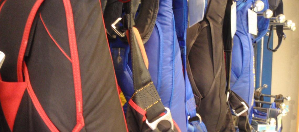 Rigging en Skydiveshops